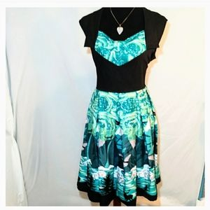 Rockabilly Lindy bop ophelia swing dress